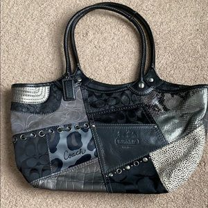 Authentic Coach Patchwork Tote